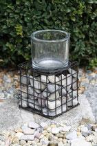 Eisen-Leuchter Stone Cube