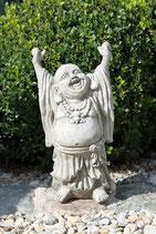 Buddha hands up