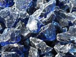 Glassteine blau