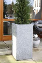 Granitpflanzvase