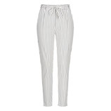 Chloe Hose White Stripes
