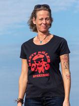 Froen-T-Shirt Shanty Killers schwarz/rot