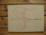 TEXTIL MÄRKNING / テキスタイルにモノグラム刺繍