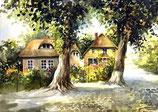 Häuser in Nardevitz auf Rügen