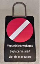 Haltesignal/ anfahren verboten