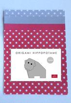 Kit Origami Hippopotame