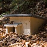 Igelhaus - Winterquartier für Igel