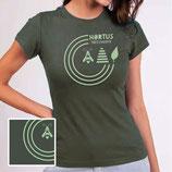 "Hortus-T-Shirt ""Olive-grün"""