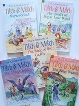 "Bücherset ""The Adventures of Titch and Mitch"""