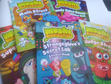 Moshi Monsters - Set of 5 Sticker Activity Books