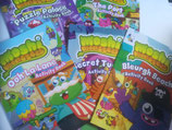 Moshi Monsters - Set of 5 Activity Books