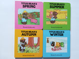 Titus Bear's Seasons - set of four books