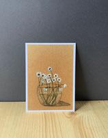 Postkarte Anemone