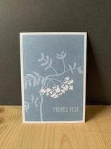 Postkarte Vogelbeeren