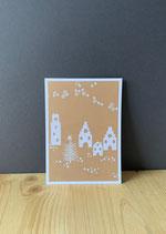 Postkarte Winterstadt