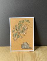 Postkarte Linde