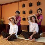 Traditionelle Thai Paarmassage