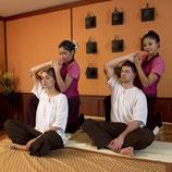 Traditionelle Thai-Paarmassage