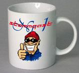 StammgastNr1 Kaffeetasse mit Schriftzug