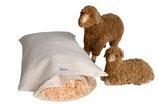 Arve mit 20% Schafwolle (Kissenfüllung)