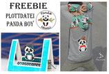 Plottdatei Panda Boy