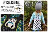 Applikation Panda Girl