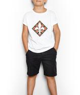 Kinder T-Shirt weiß / schwarz - MOTIV 3