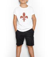 Kinder T-Shirt weiß / schwarz - MOTIV 2