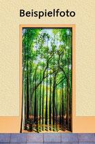 Wetterfester Insektenschutz - Vorhang mit eigenem Foto-Motiv