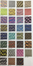 Paracord Farbmix 4mm, ganze Rolle 50m