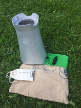 Enki Stove Wild und Wild+ Pyrolyse Camping Kocher