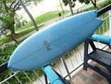 """Surftech Gerry Lopez Something Fishy Quad fin 5'10"""""""