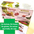 Infusiones de moringa con stevia (3 cajas)