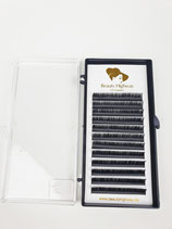 Easy Fan blooming Lashes Gold Edition 0,05 D Curl