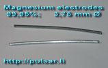 Magnesiumelektroden 12cm