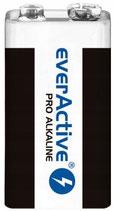 5 Stk 9 Volt Batterien Everactive