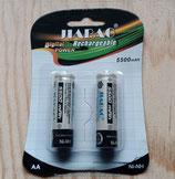 AA Akku 1.2V  Batterien