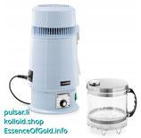 Wasserdestillator mit Thermostat Regler