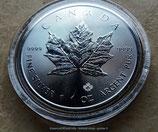 2x 1 Unze 9999 Feinsilber, Maple Leaf Kanada