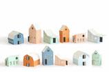 Papierhäuser,  Heim von Jurianne Matter