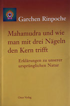 Garchen Rinpoche, Mahamudra und wie man mit drei Nägeln den Kern trifft, Erklärungen zu unserer ursprünglichen Natur