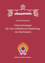 Garchen Rinpoche, Unterweisungen für eine mitfühlende Begleitung von Sterbenden
