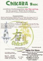 CHIKARA Basic Hochleistungsfutter 7mm