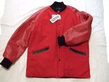 ハーフコート(ファラオコート)タイプ メルトンウールx袖牛革 ラグランスリーブ