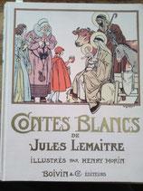 """""""Contes blancs """" de Jules Lemaitre"""