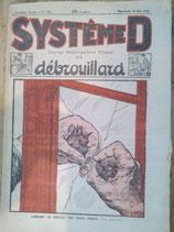 """""""Système D  journal hebdomadaire illustré du débrouillard"""""""