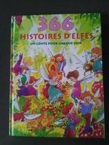 """""""366 Histoires d'elfes"""" de Francisca Frohlich, illustré par Rilk Slinger et traduit par Maica Sanconie"""