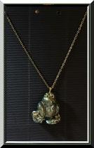 Grenuoille - collier colle chaude & carton