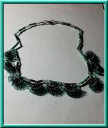 Spirou  -  collier fil aluminium