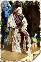 AFR-ASS-01 - L'africain assis - statuette